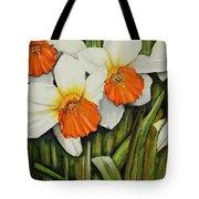 Field Of Daffodils Tote Bag