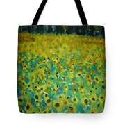 Field Of Daisy's Tote Bag
