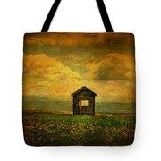 Field Of Dandelions Tote Bag