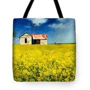 Field Of Dreams Tote Bag by Betty LaRue