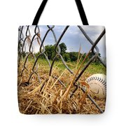 Field Of Dreams Tote Bag by Jason Politte