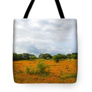 Field Ablaze Tote Bag