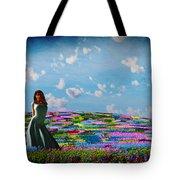 Field Of Flowers... Tote Bag