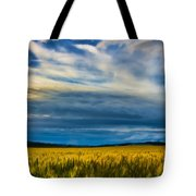 Field Of Gold  Tote Bag