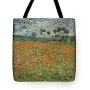 Field Of Poppies, Auvers-sur-oise, 1890 Tote Bag