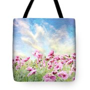 Field Of Poppies Stillliefe Tote Bag