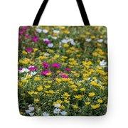Field Of Pretty Flowers Tote Bag