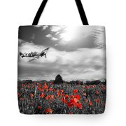 Field Of Red Tote Bag