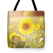 Field Of Sunshine Tote Bag