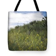 Field Of Wild Mustard Tote Bag