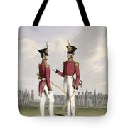Field Officers Of The Royal Marines Tote Bag