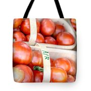 Field Tomatoes Tote Bag