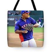 Fielding Practice Tote Bag