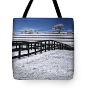 Fields And Fences Tote Bag