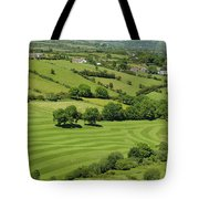Fields In Northern Ireland Tote Bag