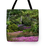 Fields Of Heather Tote Bag