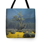 Fields Of Yellow Foxglove Tote Bag