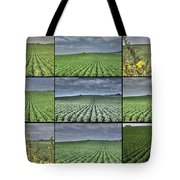 Fields Panel Tote Bag