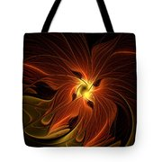 Fiery Tote Bag by Amanda Moore
