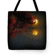 Fiery Fall... Tote Bag