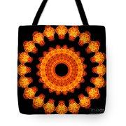 Fiery Pattern Tote Bag