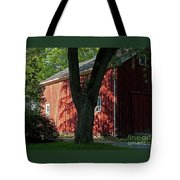 Fiery Shadows Tote Bag