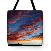 Fiery Skies Tote Bag