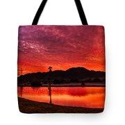 Fiery Sunrise Tote Bag