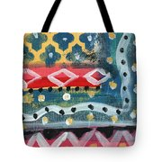 Fiesta 4- Colorful Pattern Painting Tote Bag