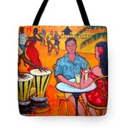 Fiesta At The Beach Tote Bag