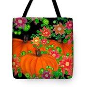 Fiesta Pumpkins Tote Bag