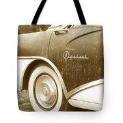 Fifties Buick Tote Bag
