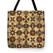 Fifty Four Tiles Tote Bag