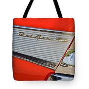 Fifty Seven Chevy Bel Air Tote Bag