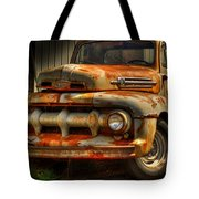 Fifty Two Ford Tote Bag by Thomas Young