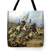Fight For The Banner Tote Bag by Victor Mazurovsky