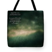 Fight For Your Dreams Tote Bag