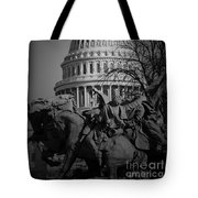 Fight In Washington Tote Bag