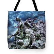 Fight On Tote Bag