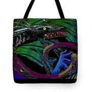 Fight The Dragon Tote Bag