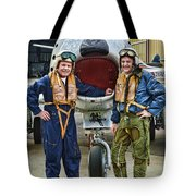 Fighter Pilots Tote Bag