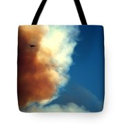 Fighting The Clover Fire Tote Bag