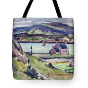 Figure And Kirk   Iona Tote Bag by Francis Campbell Boileau Cadell