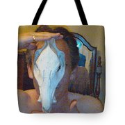 Figure Animal Skull 1 12 2011 Tote Bag