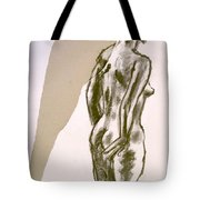 Figure Collage Tote Bag