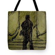 Figure Decending Tote Bag