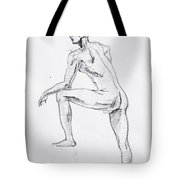 Figure Drawing Study II Tote Bag
