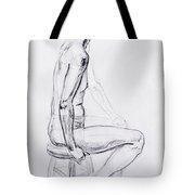 Figure Drawing Study V Tote Bag