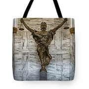 Figure Of Justice Tote Bag