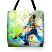 Figure Skating 01 Tote Bag